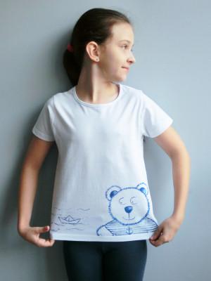 Tričko - Méďa námořník