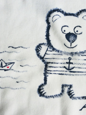 Detail Body méďa námořník